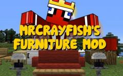 [CFM] MrCrayfish 的家具 (MrCrayfish's Furniture Mod)