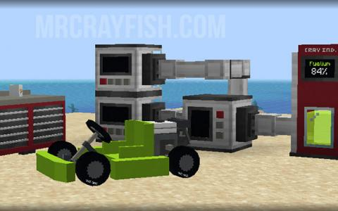 MrCrayfish的载具 (MrCrayfish`s Vehicle Mod)