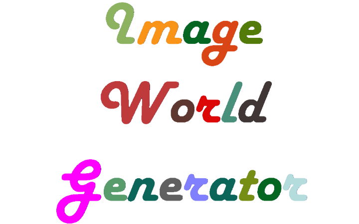 Image World Generator